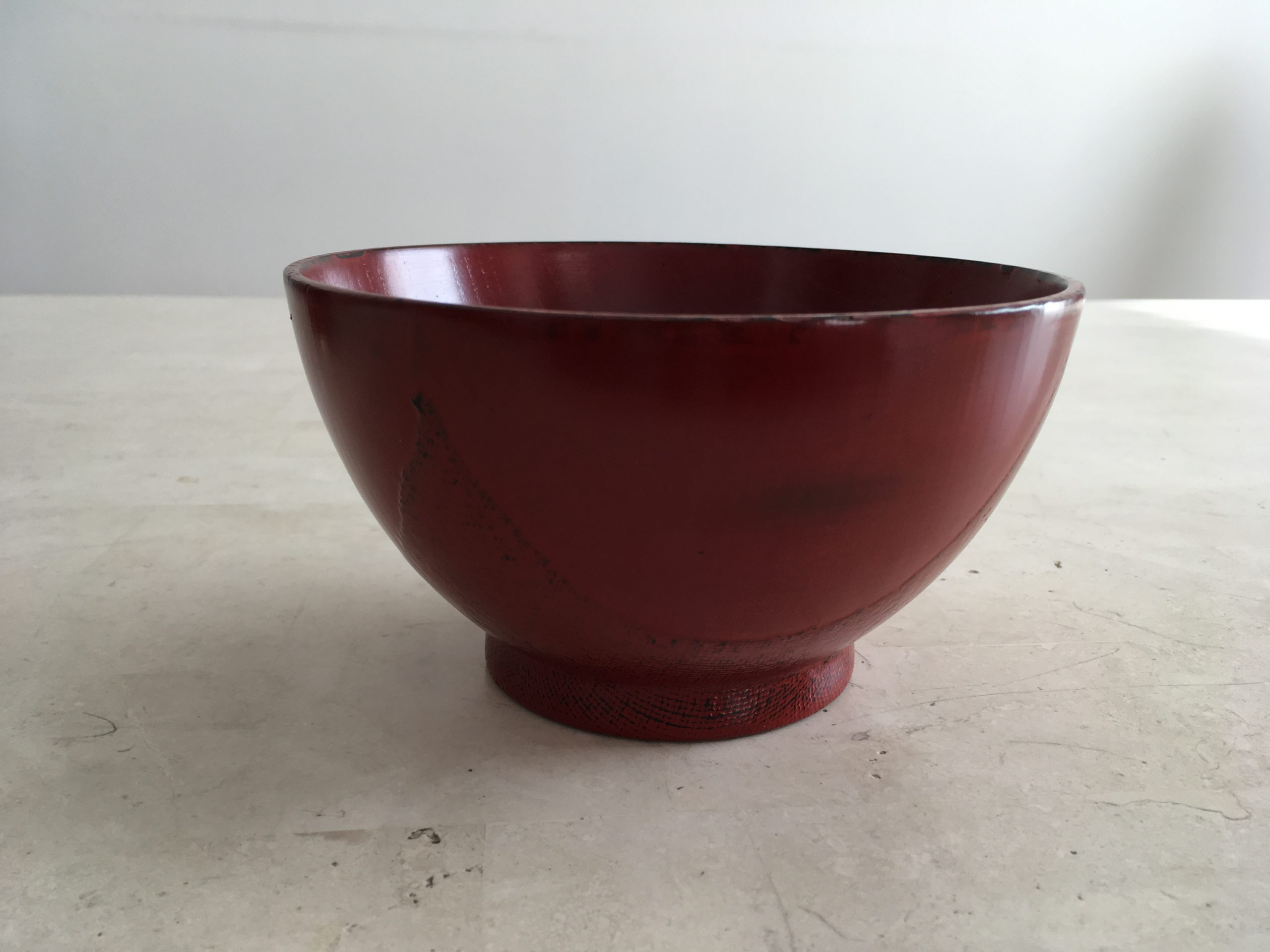 Wooden Lacquerware Bowl